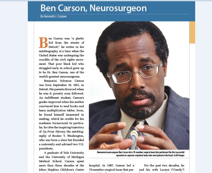 do it better ben carson essay Do it better ben carson m d with cecil murphey how does this company do it this essay will explore how ben and jerry's motivate its employees by having values.