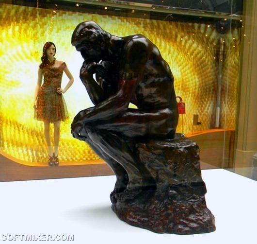 Как он создает свои статуи, скульптор отвечал: я беру глыбу мрамора и отсекаю от нее все лишнее