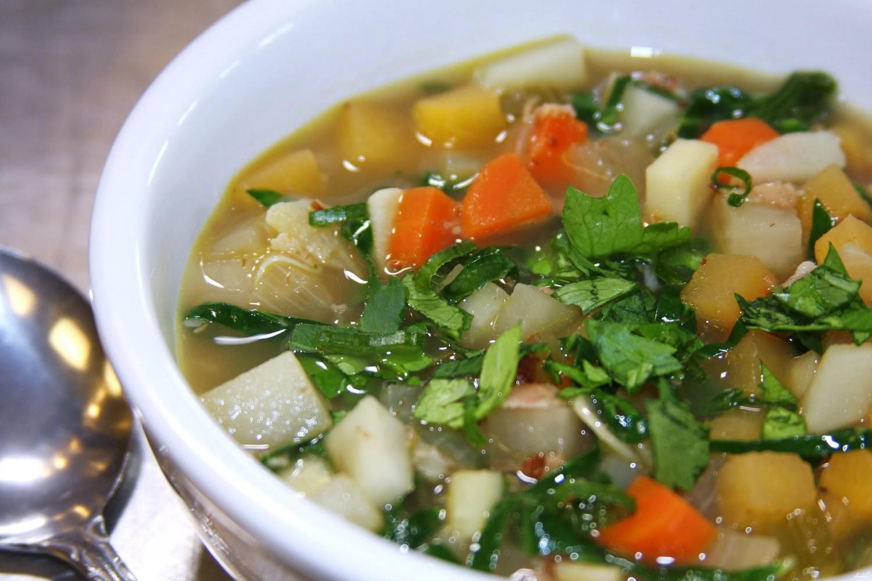 Похудение на супе из сельдерея