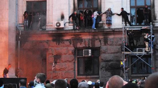 Бойня в Одессе организована ФСБ и ГРУ России по приказу Путина
